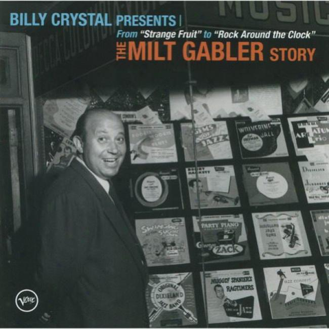Billy Crystal Presents The Milt Gabler Story (includes Dvd)