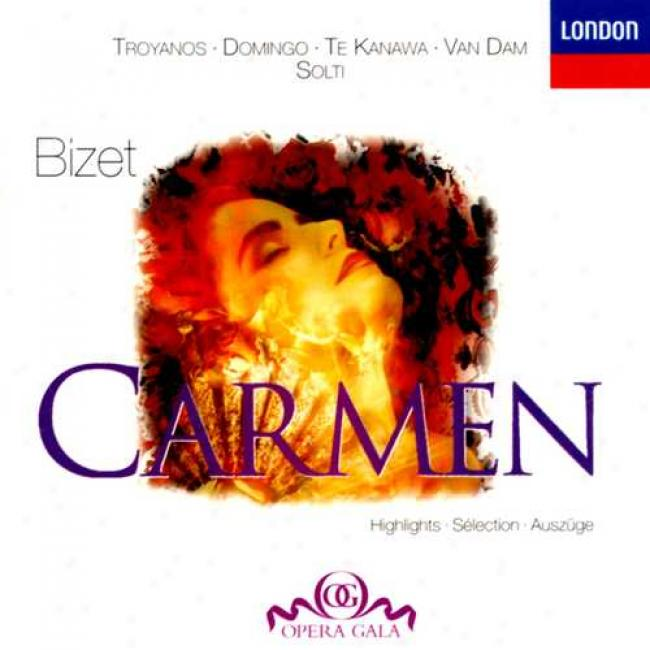 Bizet: Carmen - Highlights / Solti, Tryoanos, Domingo, Et Al