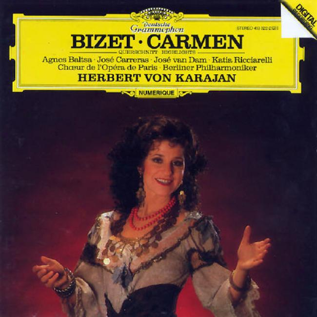 Bizet: Carmen - Highlights/karajan, Baltsa, Carreras