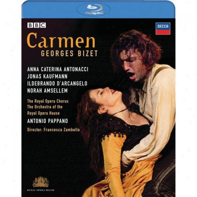 Bizet: Carmen (music Blu-ray) (bd Amaray Case)