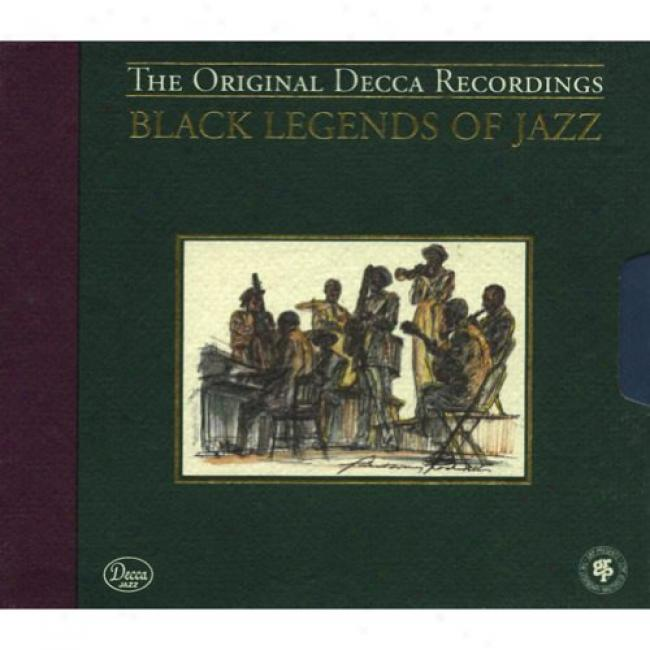 Black Legends Of Jazz (limited Edition) (2cd) (cd Slipcase) (remaster)