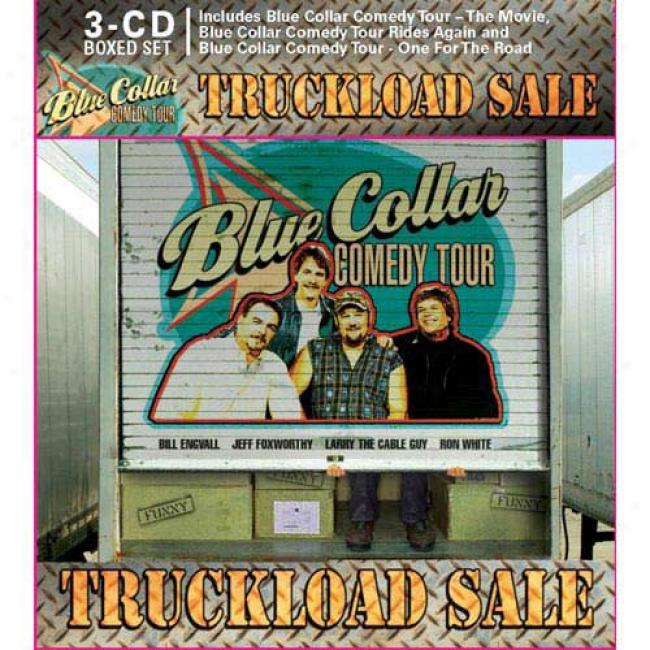 Blue Collar Comedy Tour: Truckkload Sale (with Exclusive Bonus Disc) (4 Disc Driver's seat Set)