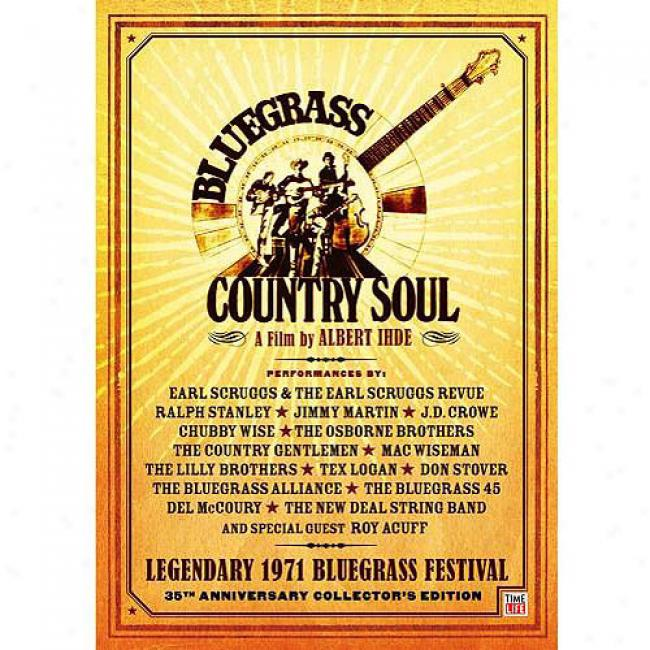 Bluegrass Country Soul (music Dvd) (amaray Case)
