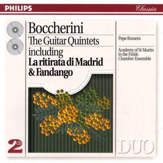 Boccherini: The Guitar Quintets / Pepe Romero, Asmf