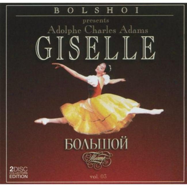 Bolshoi Presents Adolphe Charles Adams Giselle, Vol.3 (2cd) (remaster)