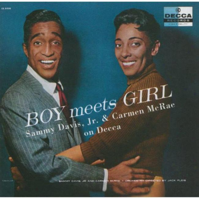 Boy Meets Girl: Sammy Davis Jr. And Carmen Mcrae On Decca