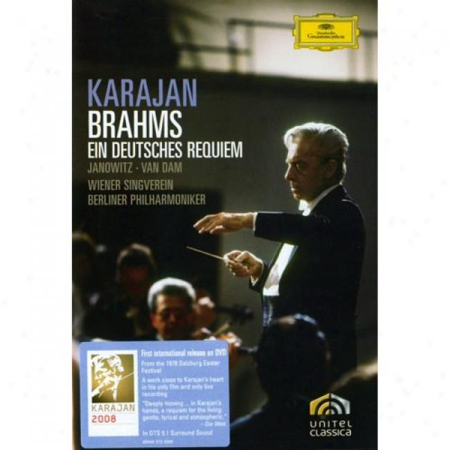 Brahms: A Born of the same father and mother Requiem (music Dvd) (amaray Case)