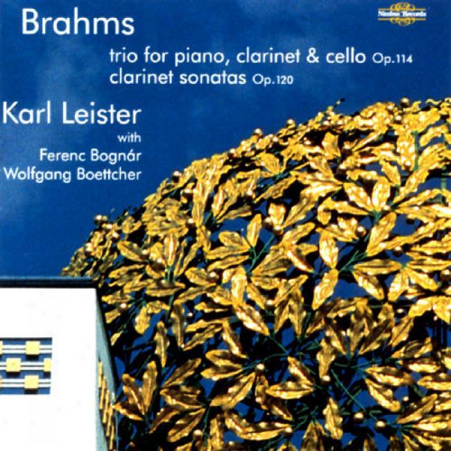 Brahms: Clarinet Trio Op.114/clarinet Sonatas Op.120