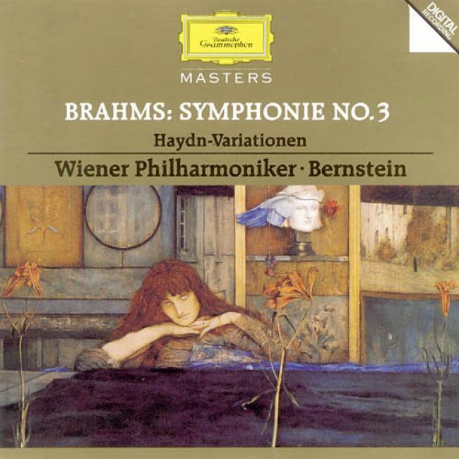 Brahms: Symphonie No 3, Etc / Bernstein, Vienna Po