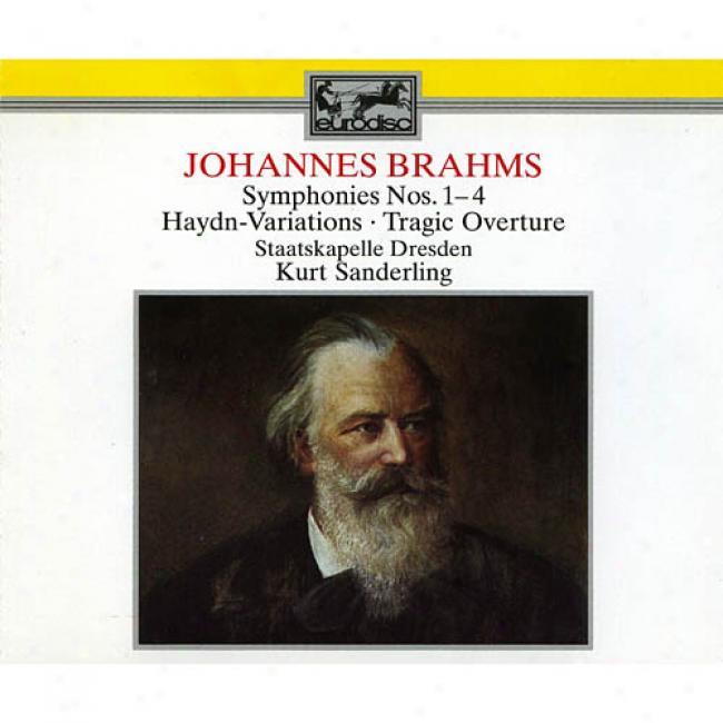 Brahms: Symphonies Nos.1-4/haydn Variations/tragic Overture (3cd)