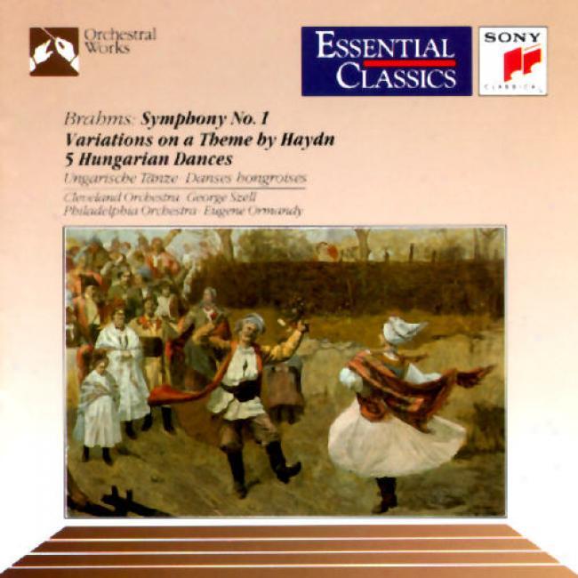 Brahms: Symphony No.1/george Szell/eugene Ormandy