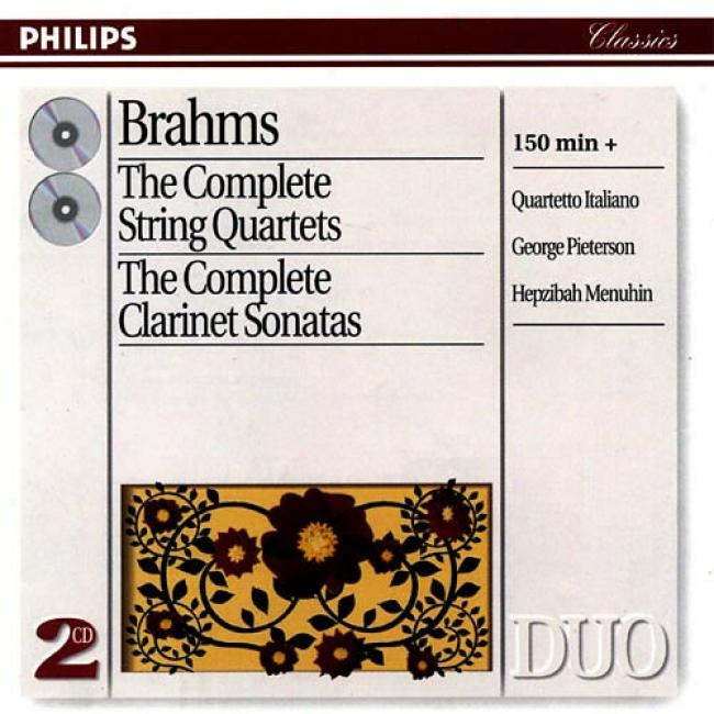 Brahms: The Complete String Quartets & Clarinet Sonatas (remaster)
