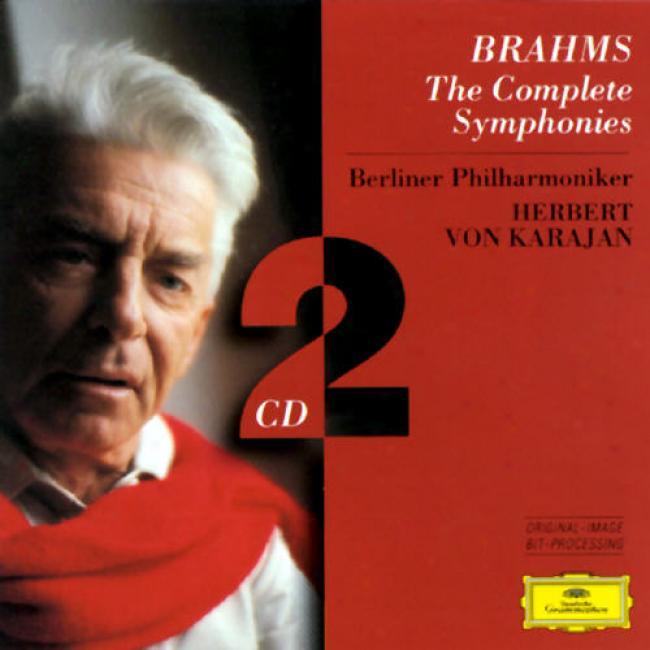 Brahms: The Complete Symphonies / aKrjan, Berlin Po
