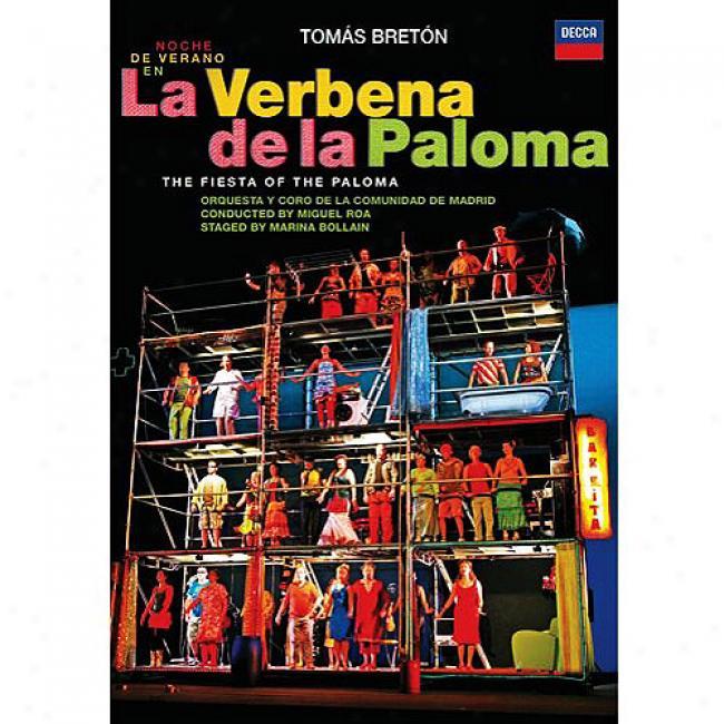 Breton: La Verbena De La Paloma (music Dvd) (amaray Question)