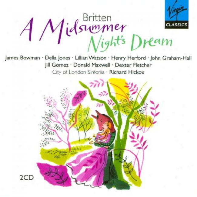 Britten: A Midsummer Night's Dream (2 Disc Box Swt)