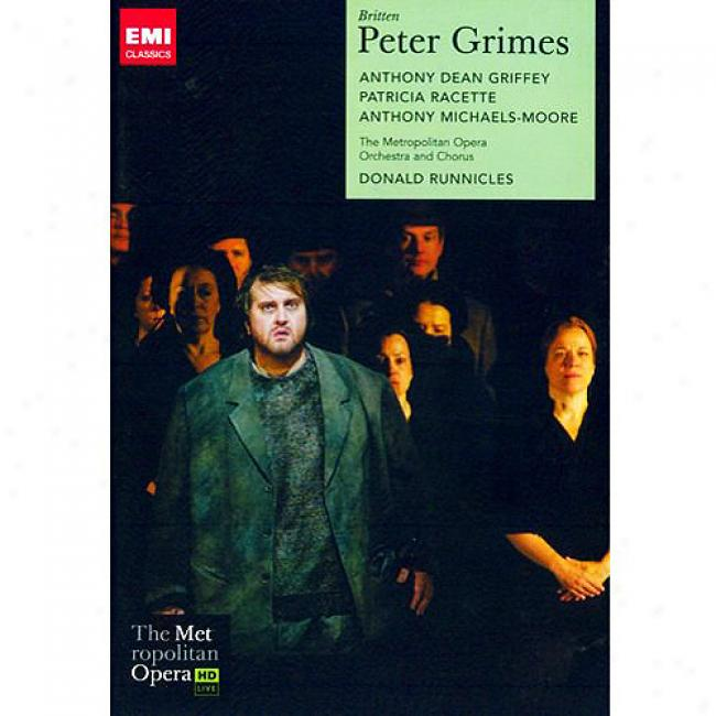 Britten: Peter Grimes (2 Discs Music Dvd) (amaray Case)