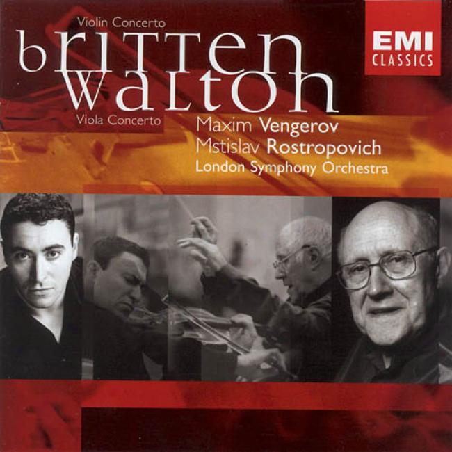 Britten: Violin Concerto Op.15/walton: Viola Concerto