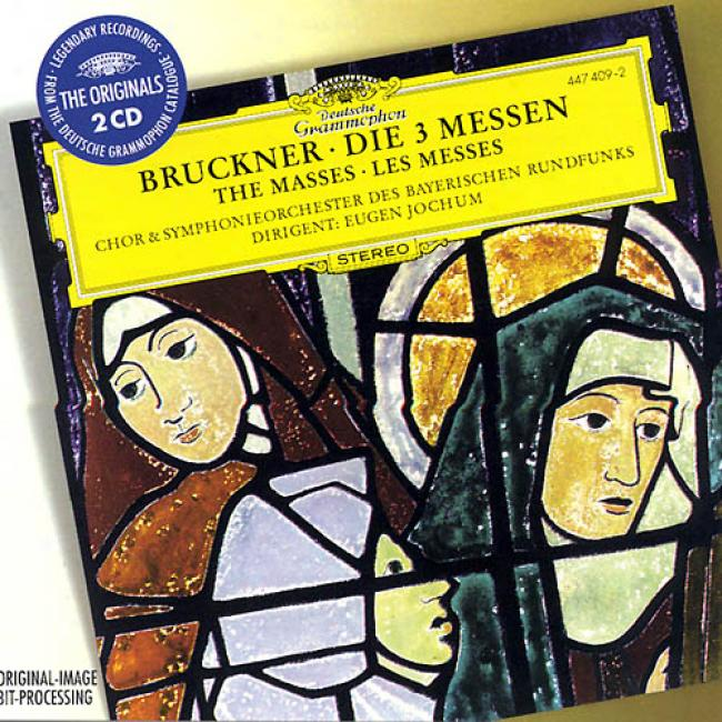 Bruckner: The 3 Masses / Jochum, Bavarian Rso & Chorus