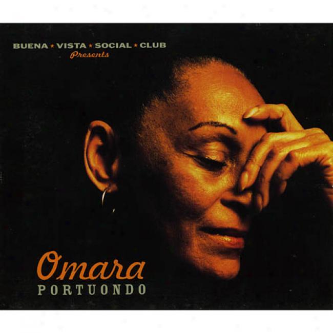 Buena Vista Companionable Ciub Presents Omara Portuondo (cd Slipcase)