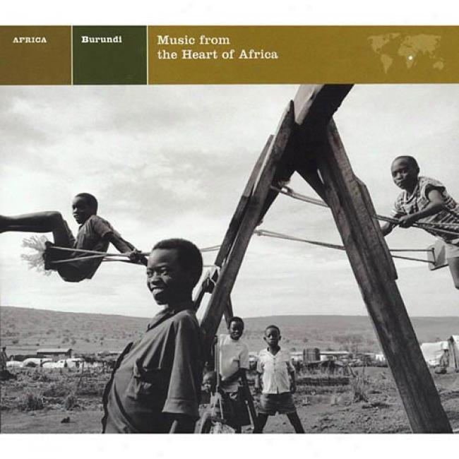 Burundi: Music From Thd Conscience Of Africa (cd Slipcase) (remaster)