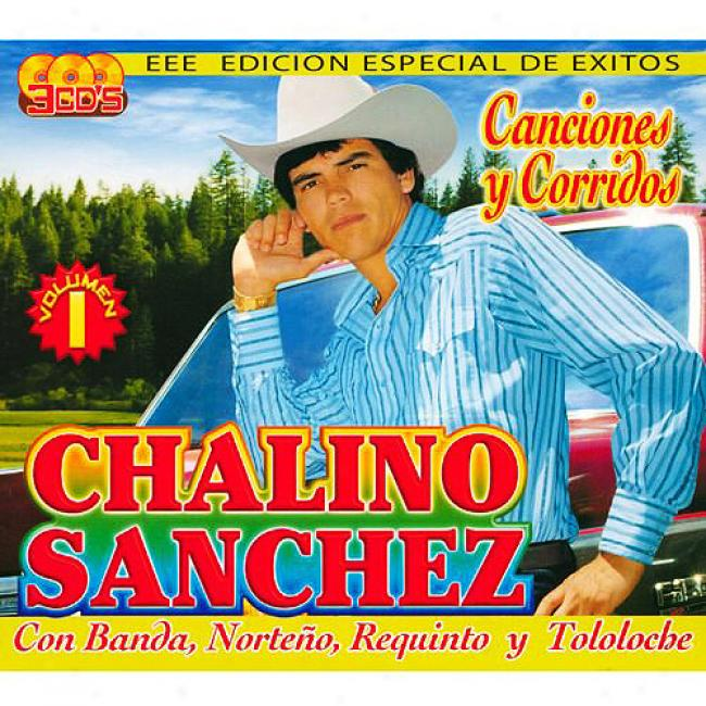 Canciones Y Corridos (special Edition) (3 Diwc Box Set)
