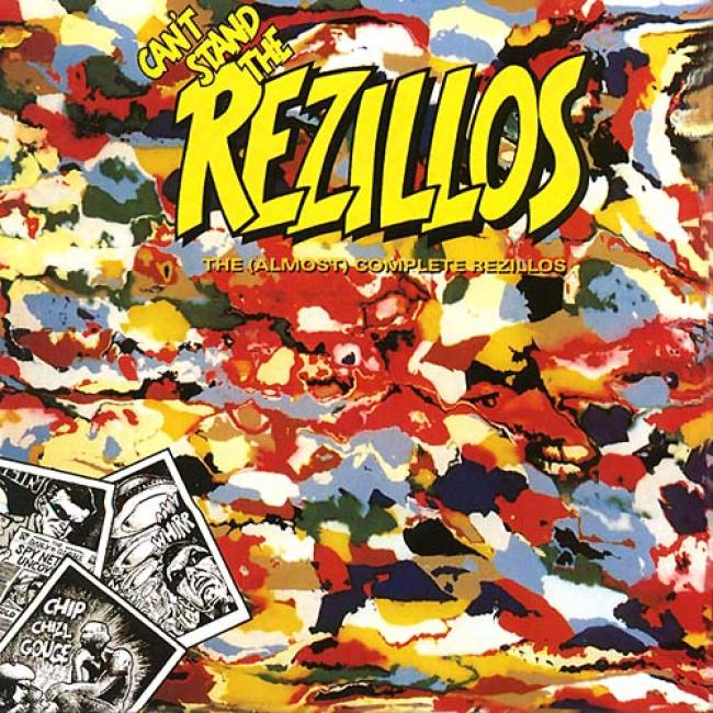 Can't Stand The Rezillos: The Almost Total Rezillos