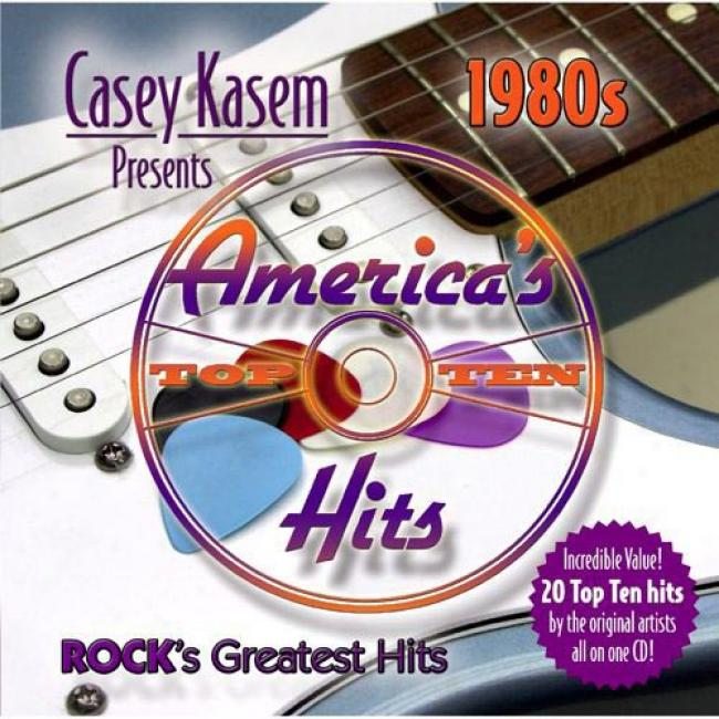 Casey Kasem Prexents America's Top Ten:1 980s - Rock's Greatest H5is