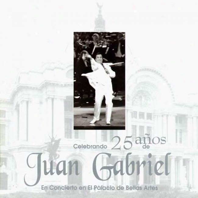 Celebrando 25 Anos De Juan Gabriel En El Palacio De Bellas Artes (2cd)