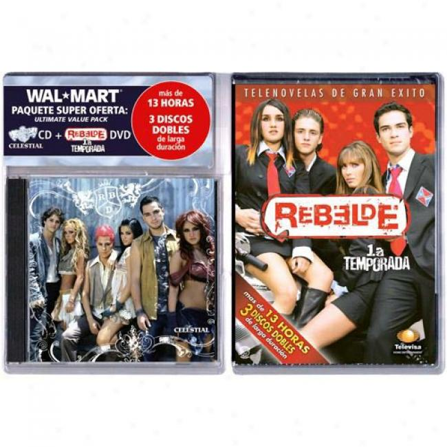 Celestial (with Exclusive Rebelde 3 Disc Dvd BoxS et)