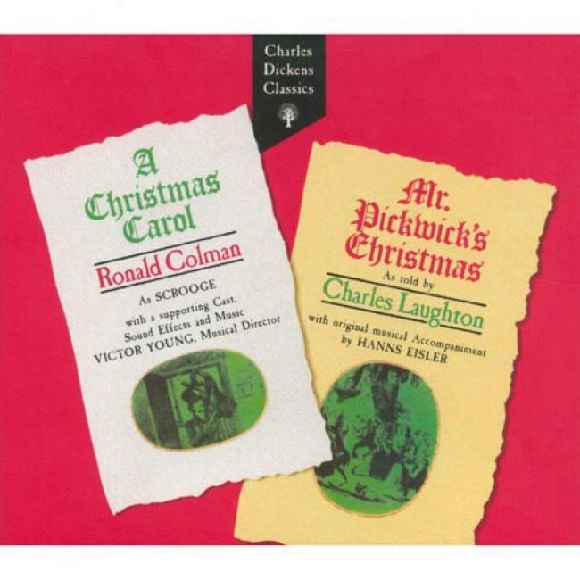 Charles Dickenes: A Christmas Carol/mr. Pickwick's Christmas (digi-pak) (remaster)