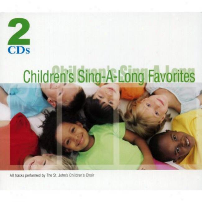 Children's Sing-a-long Favorites (2cd) (digi-pak)