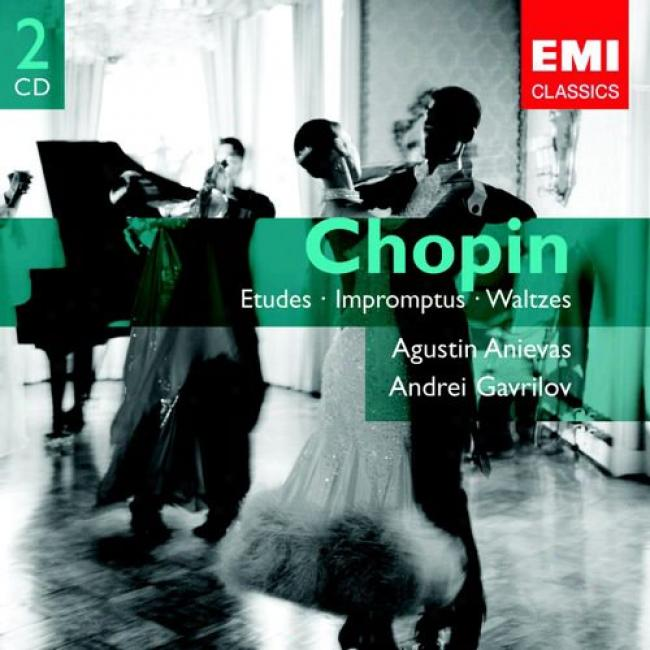 Chopin: Etudes, Impromptus And Waltzes (2cd) (remaster)