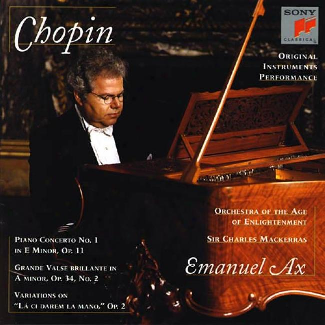 Chopin: Piano Concerto No.1/grande Valse Brillante/var.
