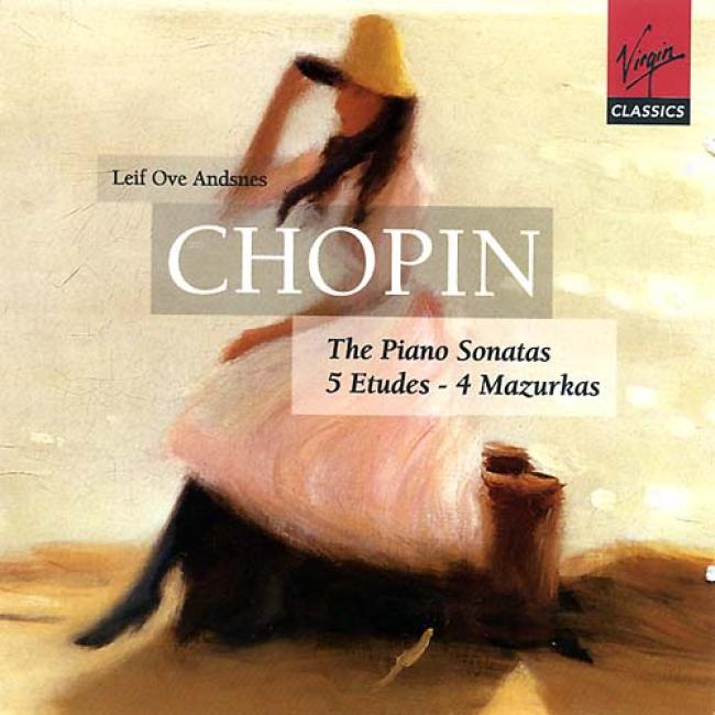 Chopin: The Piano Sonatas/5 Etudes/4 Mazurkas (2cd)