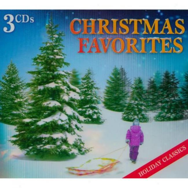 Christmas Favorotes (wal-mart Exclusive) (3cd) (digi-pak)