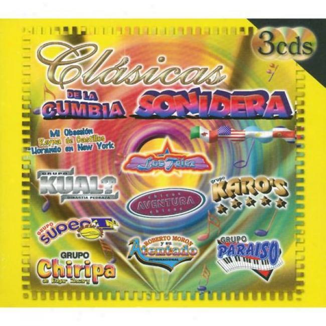 Clasicas De La Cumbia Sonidera (3cd) (digi-pak)