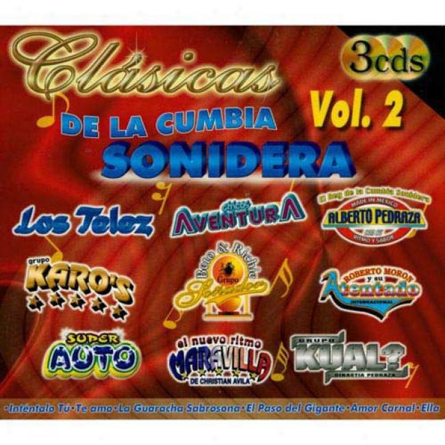 Clasicas De La Cumbia Sonidera, Vol.2 (3cd) (digi-pak)