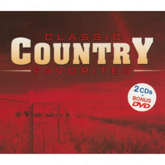 Classic Country Favorites (2cd) (includes Dvd) (digi-pak)