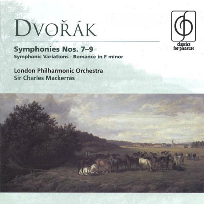 Classics Because Pleasure: Dvorak - Symphonies Nos.7-9, Symphonic Variation Op.78, Romance In F Minor Op.11 (london Philharmonic Orchestra, English Cavity Orchestra, Stephanie Gonley) (2cd)
