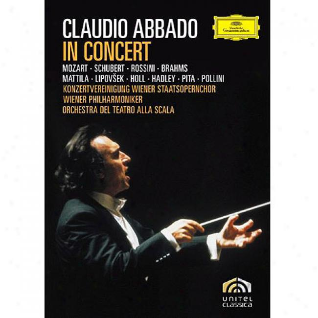 Claudio Abbado In Concert (2 Discs Music Dvd) (amaray Box)
