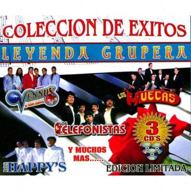 Coleccion De Exitos Leyenda Grupera (limited Edition) (3cd)