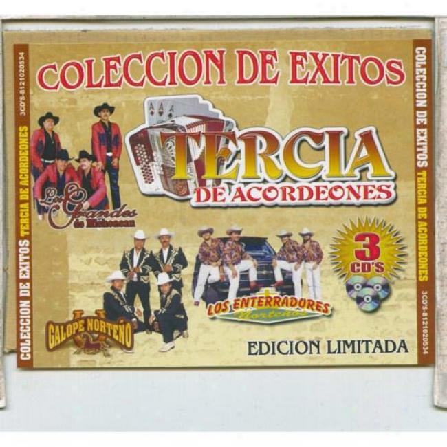Coleccion De Exitos Tercia De Acordeones (3cd)