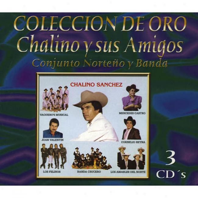 Coleccion De Oro: Chalino Y Sus Amigos (remaster)