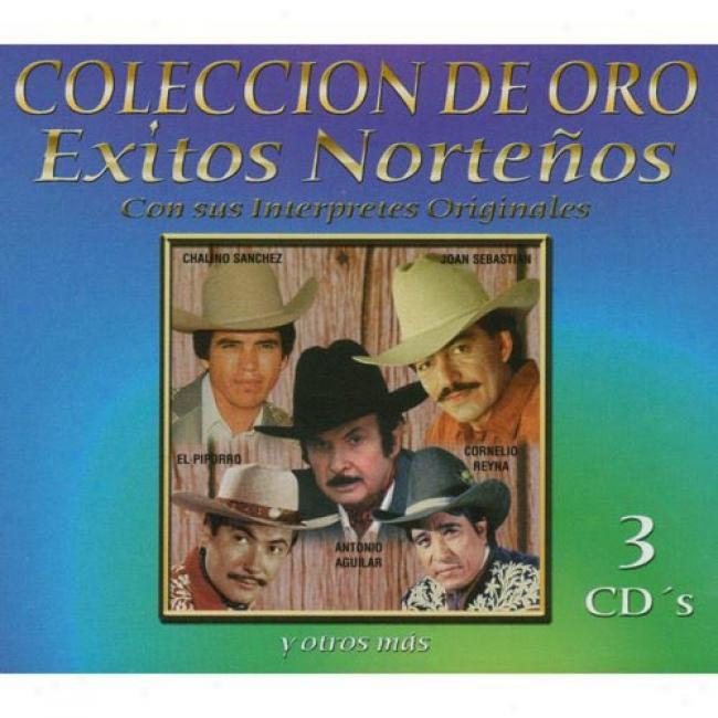 Coleccion De Oro: Exitos Nortenos (3 Disc Box Set) (remaster)