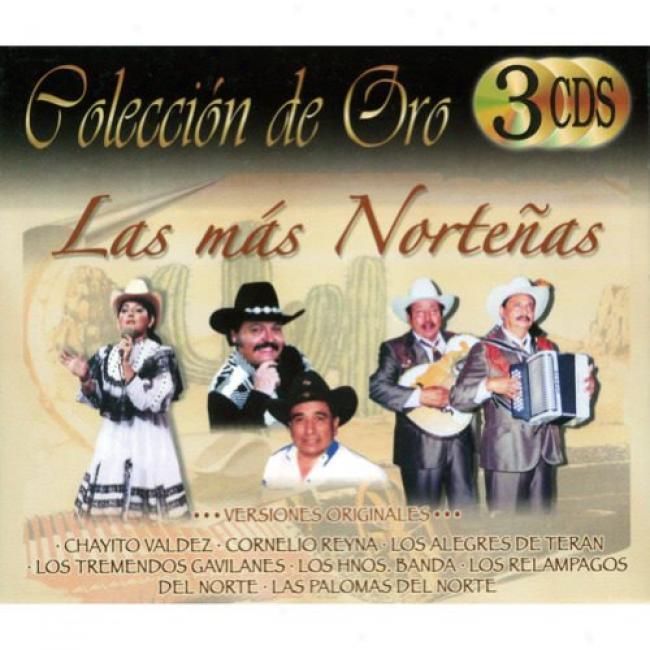 Coleccion De Oro: Las Mas Nortenas (cd Slipcase)
