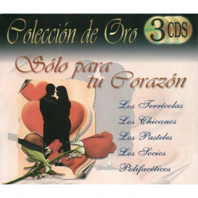 Coleccion De Oro: Solo Para Tu Corazon (3 Disc Box Set)