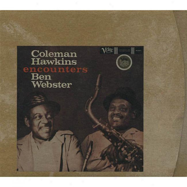 Coleman Hawkins Encounters Ben Webster (digi-pak)