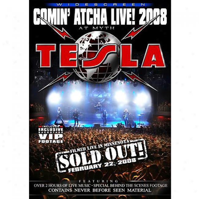 Comin' Atcha Live! 2008 (music Dvd) (amaray Case)