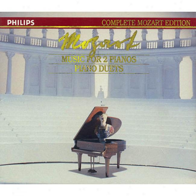 Complete Mozart Edition, Vol.16: Music For 2 Pianos/piano Duets (2cd) (cd Slipcase)
