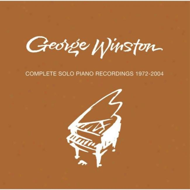 Complete Solo Piano Recordings: 197Z-2004 (10 Disc Driver's seat Set)